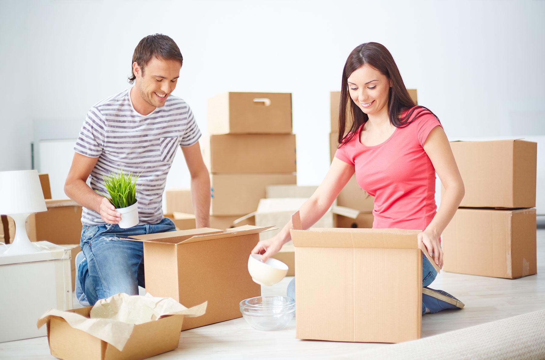 ¿Cómo desembalar tus cosas en tu nuevo hogar sin desesperarte?